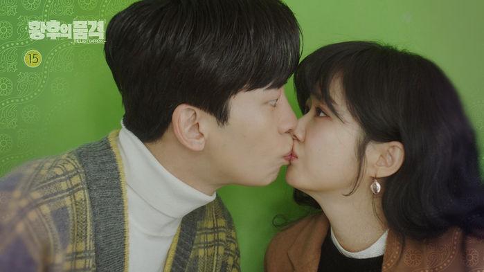 """""""사랑의 큐피트 오아린""""…'황후의품격' 신성록-장나라, 깜짝 키스"""