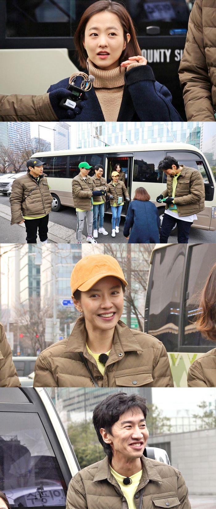 '런닝맨' 박보영, 진짜 민낯으로 출연 '맹활약'
