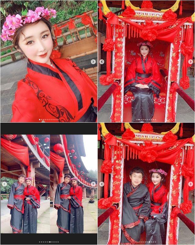 """성은채, 중국인 남편과 세번째 결혼식…""""네번째 결혼식은 네팔"""""""