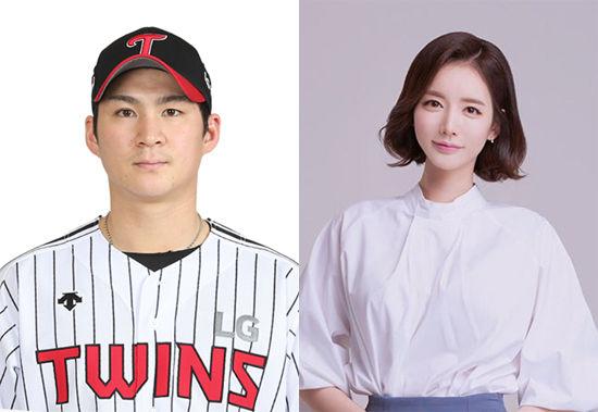 [단독] LG 오지환, 쇼호스트 김영은과 결혼 전제 열애…임신 4개월