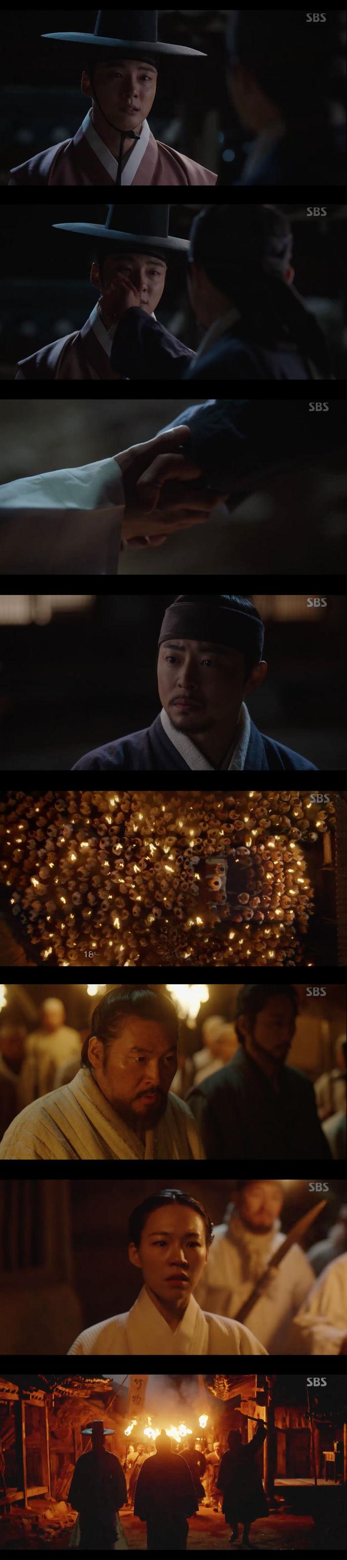 """[스브스夜] '녹두꽃' 윤시윤, 조정석에 """"늘 미안했다"""" 엇갈린 운명…최무성, 고부민란 봉기"""