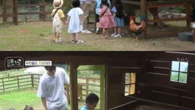 '리틀포레스트' 본격적인 아이 케어 시작…이승기 동물농장에서 '멘붕'