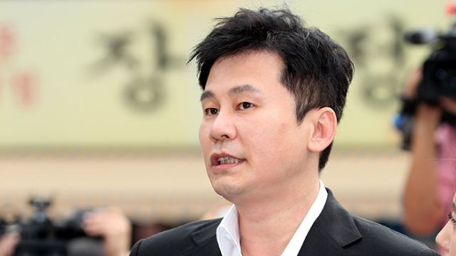 """""""성매매 증거 찾지 못해""""…양현석, 불기소 의견으로 檢 송치"""