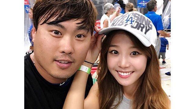 """배지현 측 """"'류현진♥' 사이에 새 가족 생겼다"""" 임신 인정"""
