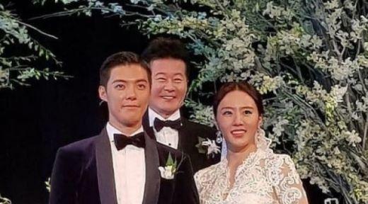 """""""김연아도 왔다""""…이상화♥강남 결혼식은 별들의 잔치"""