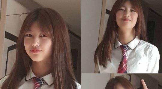 """""""곧 중학생""""…박연수, 딸 송지아 교복사진 공개"""