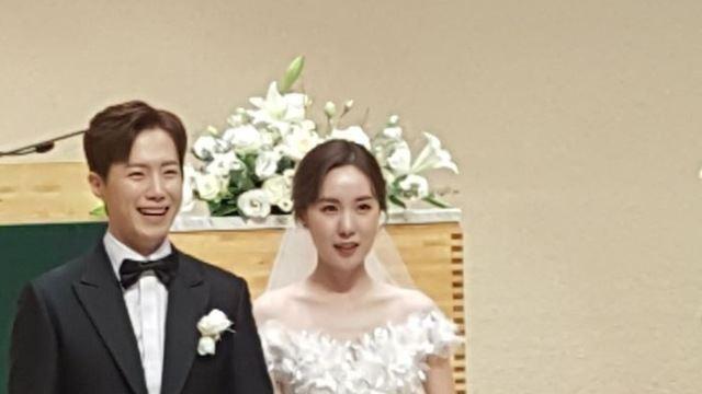 간미연♥황바울, 닮은꼴 부부 탄생…베이비복스도 총출동