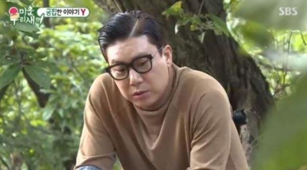 """[스브스夜] '미우새' 이상민, 생활고 털어놓은 슬리피에 """"당분간 고기 무한리필"""" 응원"""