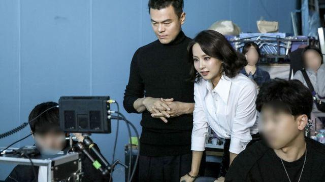 박진영, 조여정과의 엘리베이터 댄스...또 레전드 탄생?