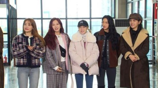 """'런닝맨' AOA, 입담+예능감 발산…유재석 """"많이 내려놨구나"""" 폭소"""