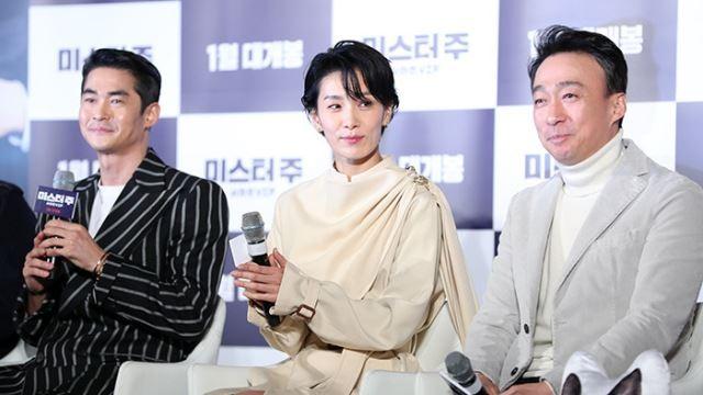 [E포토]배정남-김서형-이성민, '미스터 주 3인방'