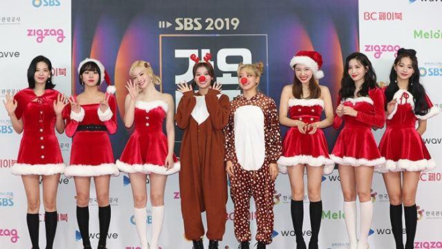 [E포토]트와이스, '메리 크리스마스'