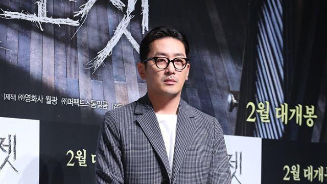 """'프로포폴 의혹' 하정우, 피의자 신분 검찰 조사…""""치료 목적"""" 혐의 부인"""