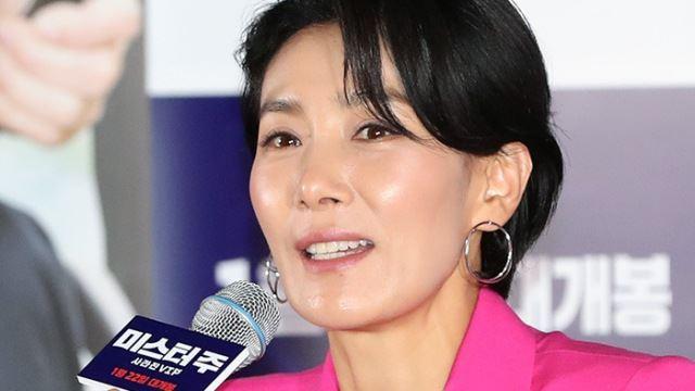 [E포토]김서형, '동물 코미디 영화로 돌아왔어요'