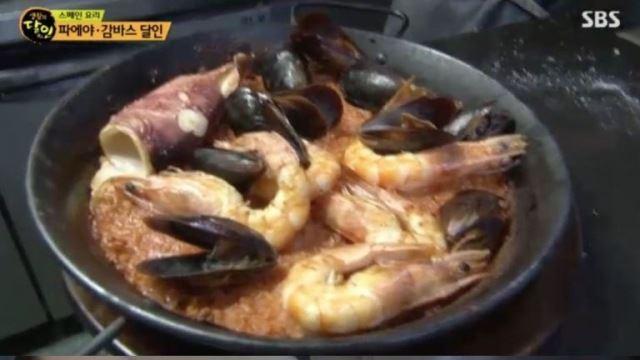 [스브스夜] '생활의 달인' 서울 스페인 요리의 대가, 특별한 쌀 이용한 '파에야' 비법 공개
