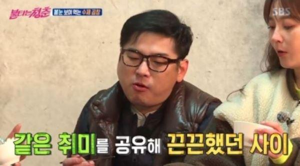 """[스브스夜] '불청' 김형준, 최재훈과 '레이싱' 인연 """"만나서 세차하고 커피"""""""