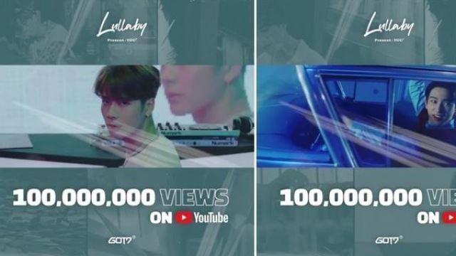 GOT7, 'Lullaby' 뮤비 조회 수 1억뷰 돌파...통산 5번째