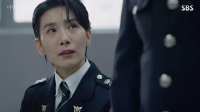 """[스브스夜] '아무도모른다' 김서형, """"성흔 사건 유력한 용의자 찾았다""""…박훈 지목"""