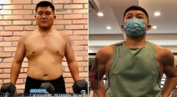 조세호, 다이어트 비포 앤 애프터....3개월 운동효과 '깜짝'