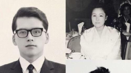 """""""피는 못 속여""""…송승헌이 공개한 부모님 사진 '우월한 유전자'"""