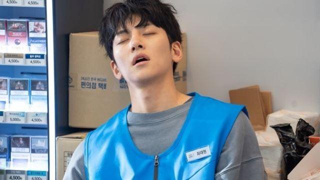 동네 편의점서 툭 튀어나온 듯…'편의점샛별이' 지창욱, 허당 점장님 완벽 변신