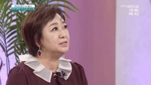 """'이혼' 혜은이 """"전 남편 김동현 '수고했다'고 말해"""""""