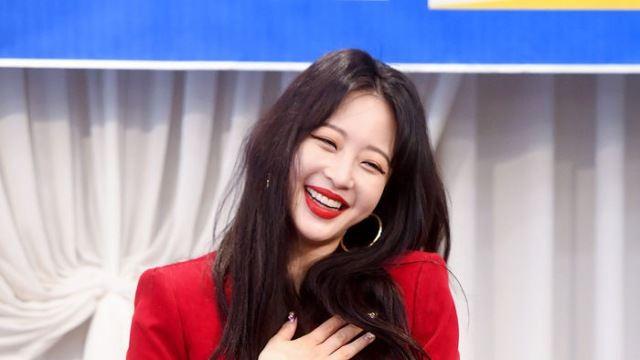 [E포토] 한예슬, '웃는 모습도 귀엽게'
