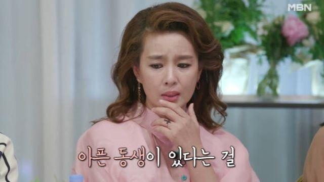 """김원희, 눈물로 고백한 가족사...""""아픈 남동생 대소변 받아내"""""""
