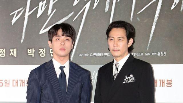 [E포토] 박정민-이정재, '오늘은 황정민 없이'