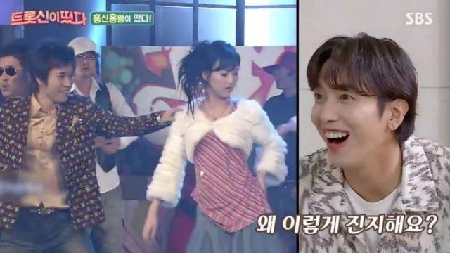 """'트롯신' 장윤정, 진지한 과거 댄스 영상에 """"아이돌에 뒤지기 싫어 열심히 했다"""" 고백"""