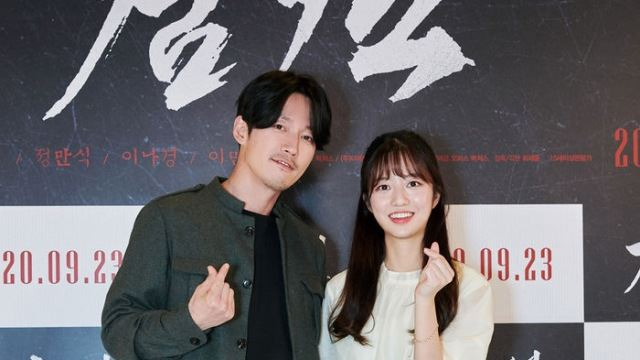 [E포토] 장혁-김현수, '검객의 아빠와 딸'