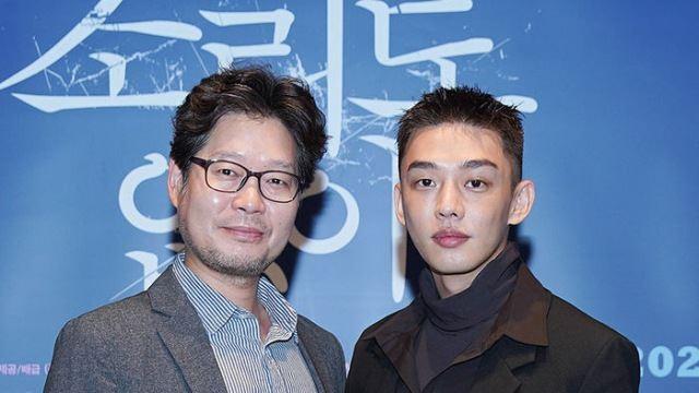 [E포토] 유재명-유아인, '영화에서 첫 만남'