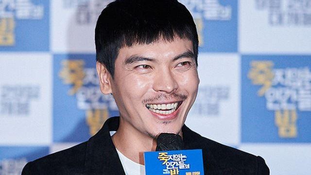 [E포토] 영화 '죽지않는 인간들의 밤'의 김성오