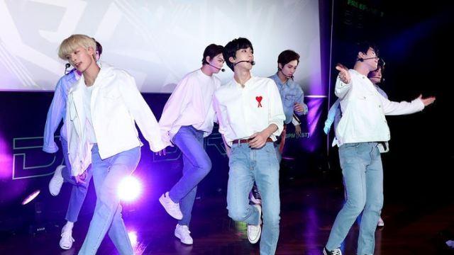 [E포토] '9인조 신예 보이그룹' 고스트나인