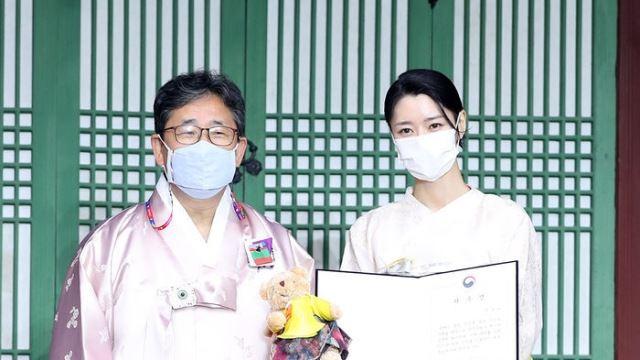 [E포토] 권나라, '한복 홍보대사 위촉'