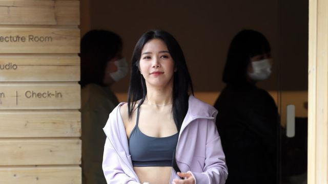 [E포토] 마마무 솔라, '운동복도 패션'