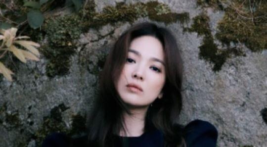 송혜교, 독보적 아름다움…사진 한 장에 드러난 아우라