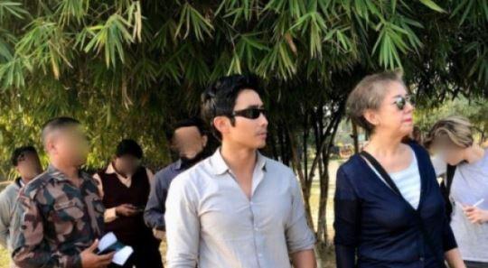 미얀마 언론, 이근 대위 UN 활동 관련 보도영상 공개