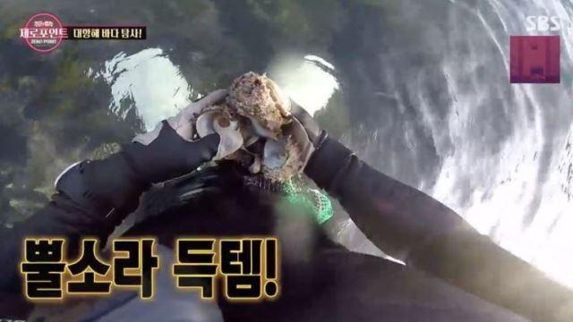 [스브스夜] '정글의 법칙' 사냥 김병만X배달 기도훈X보관 박세리…바다 탐사 '완벽한 분업' 눈길