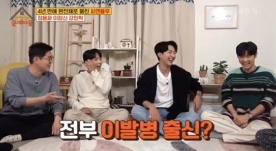 """씨엔블루 """"멤버 모두 이발병 출신…병사 머리 900명 넘게 잘랐다"""""""