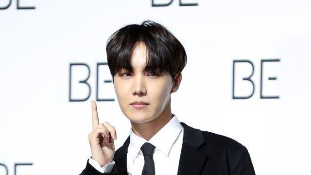 [E포토] 방탄소년단 제이홉, '빌보드 정상을 향해'